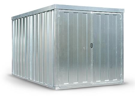 Box in lamiera attrezzatura per edilizia carrelli for Box in lamiera usati